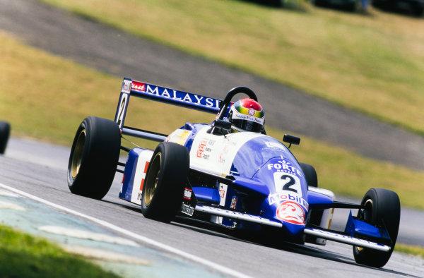 1996 Formula Vauxhall Championship. Oulton Park, England. Justin Wilson, Paul Stewart Racing, action. World Copyright: LAT Photographic.
