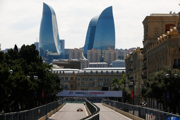Baku City Circuit, Baku, Azerbaijan. Friday 23 June 2017. Stoffel Vandoorne, McLaren MCL32 Honda.  World Copyright: Andrew Hone/LAT Images ref: Digital Image _ONY8307