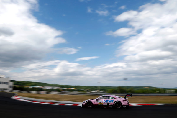 2017 DTM Round 3 Hungaroring, Budapest, Hungary. Sunday 18 June 2017. Edoardo Mortara, Mercedes-AMG Team HWA, Mercedes-AMG C63 DTM World Copyright: Alexander Trienitz/LAT Images ref: Digital Image 2017-DTM-R3-HUN-AT2-1353