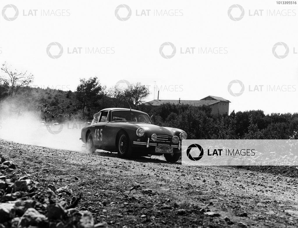 1958 Alpine Rally.