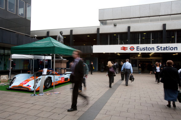Euston Station, London, England.