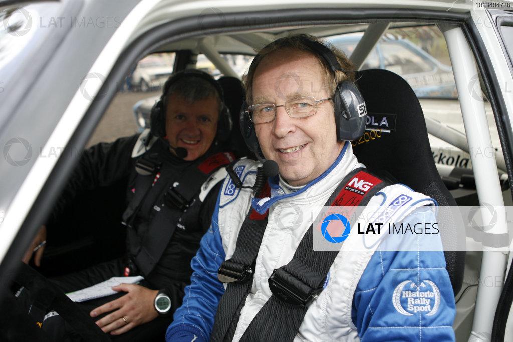 Perth, Scotland. 28th September 2008. Hannu Mikkola/Nicky Grist - Ford Escort RS. World Copyright: Ebrey/LAT Photographic