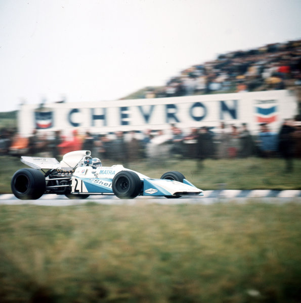 Zandvoort, Holland.18-20 June 1971.Jean-Pierre Beltoise (Matra-Simca MS120B).Ref-3/4774C.World Copyright - LAT Photographic