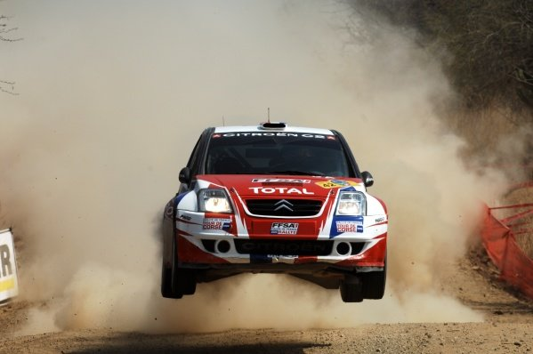 Sebastien Ogier (FRA) Citroen World Rally Championship, Rd3, Rally Mexico, Leon, Mexico, Day 2, Saturday 1 March 2008.