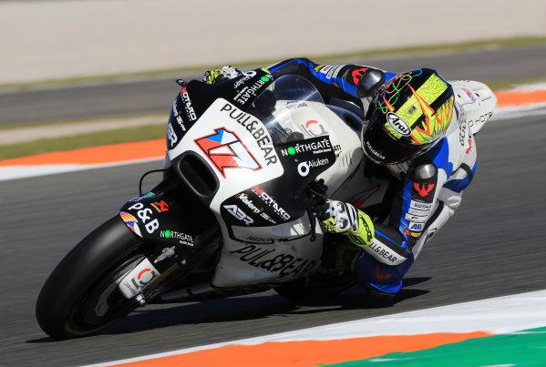 2017 MotoGP Championship - Valencia test, Spain. Tuesday 14 November 2017 Karel Abraham, Aspar Racing Team World Copyright: Gold and Goose / LAT Images ref: Digital Image 706840