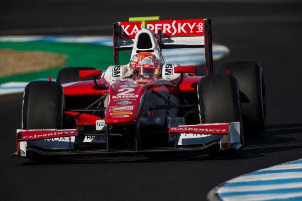 2017 FIA Formula 2 Round 10. Circuito de Jerez, Jerez, Spain. Friday 6 October 2017. Antonio Fuoco (ITA, PREMA Racing).  Photo: Andrew Ferraro/FIA Formula 2. ref: Digital Image _FER9731