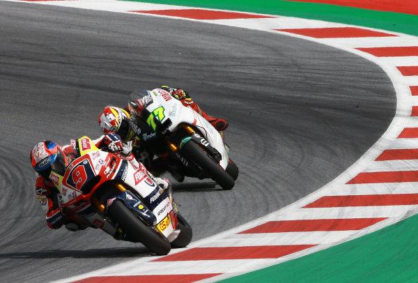 2017 Moto2 Championship - Round 11 Spielberg, Austria Sunday 13 August 2017 Jorge Navarro, Federal Oil Gresini Moto2 World Copyright: Gold and Goose / LAT Images ref: Digital Image 687141
