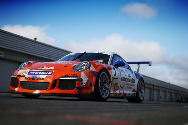 2017 Porsche Carrera Cup, Silverstone, Northants, UK. 16th-17th September 2017 Dan Cammish (GBR) Redline Racing Porsche Carrera Cup World copyright. JEP/LAT Images