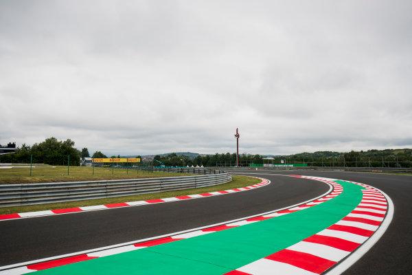2017 FIA Formula 2 Round 7. Hungaroring, Budapest, Hungary. Thursday 27 July 2017. A view of the track. Photo: Zak Mauger/FIA Formula 2. ref: Digital Image _56I0019