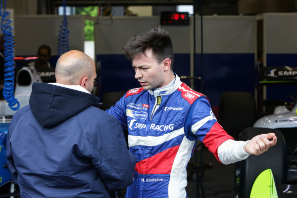 SPA-FRANCORCHAMPS 20-22 May 2016: Formula V8 3.5 at Spa-Francorchamps. Matthieux Vaxiviere #23 SMP RACING. Portrait. © 2016 Sebastiaan Rozendaal / Dutch Photo Agency / LAT Photographic