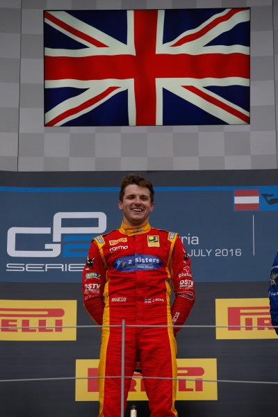2016 GP2 Series Round 4 Red Bull Ring, Spielberg, Austria. Sunday 3 July 2016. Jordan King (GBR, Racing Engineering) Photo: Sam Bloxham/GP2 Series Media Service. ref: Digital Image _SLA9919