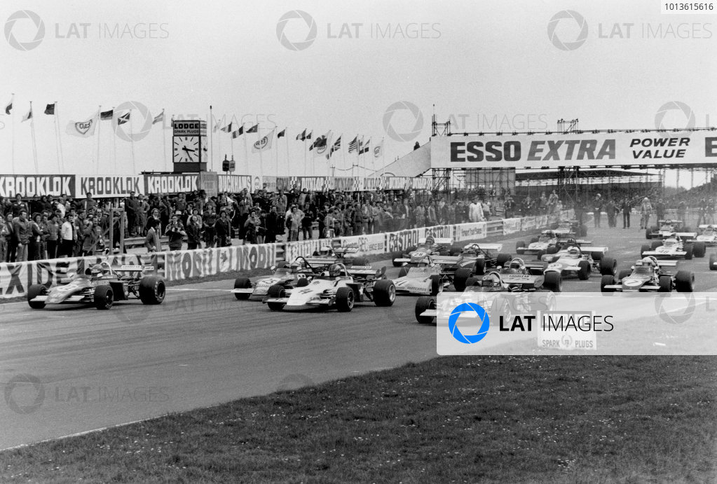 Thruxton, England. 3rd April 1972. Rd 2.