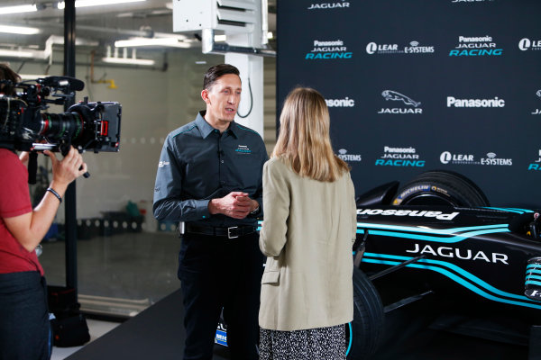 Jaguar Racing Official Formula E Launch Jaguar Heritage Collections Centre, Gaydon, UK Thursday 8 September 2016 James Barclay (Team Director, Jaguar Racing). World Copyright: Andrew Ferraro/LAT Photographic ref: Digital Image _14P4865