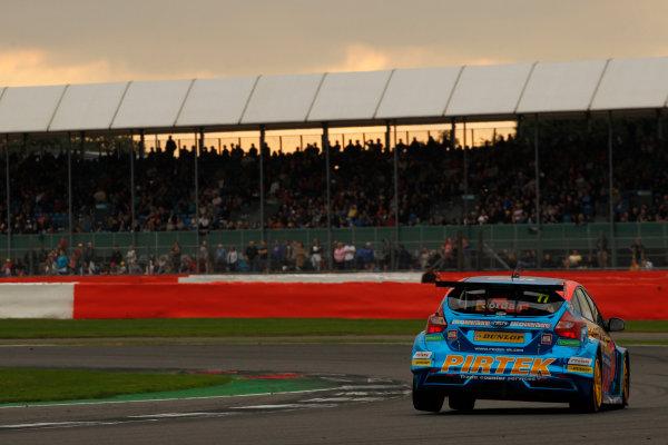 2016 British Touring Car Championship, Silverstone, 17th-18th September 2016, Andrew Jordan (GBR) Pirtek Racing Motorbase Performance Ford Focus  World Copyright. Jakob Ebrey/LAT Photographic.