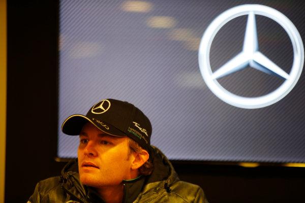 Spa-Francorchamps, Spa, Belgium. Saturday 23 August 2014. Nico Rosberg, Mercedes AMG. World Copyright: Charles Coates/LAT Photographic. ref: Digital Image _J5R1196