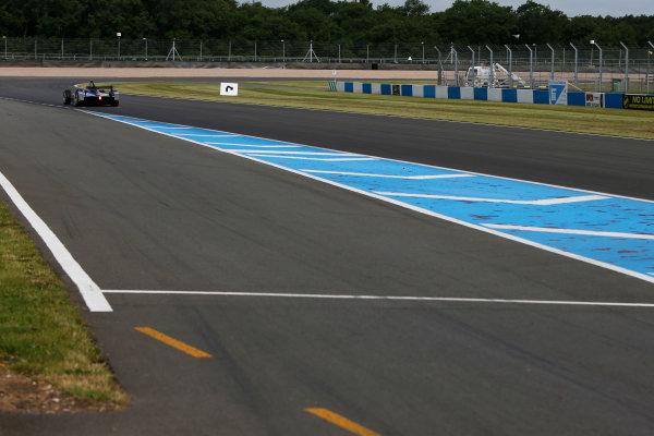 FIA Formula E Test Day, Donington Park, UK.  3rd - 4th July 2014.  Sam Bird, Virgin Racing. Photo: Zak Mauger/FIA Formula E ref: Digital Image _L0U4503