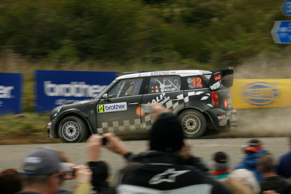 Round 7, Rally New Zealand, 21st-24th June 2012Armindo Araujo, Mini, Action.