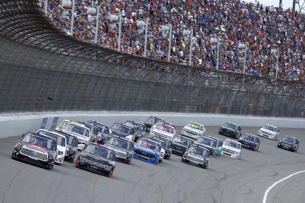 #4: Todd Gilliland, Kyle Busch Motorsports, Toyota Tundra JBL