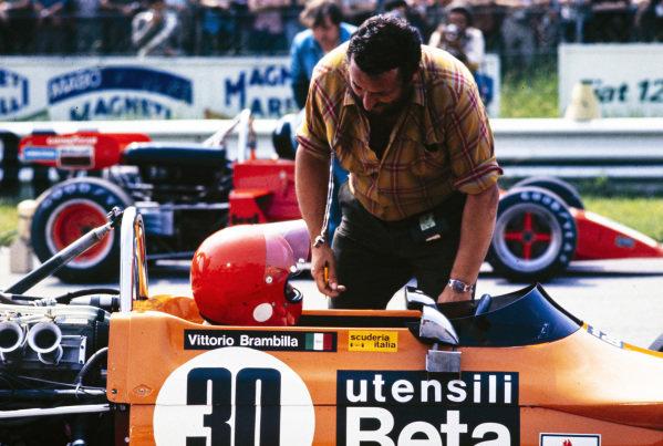 Vittorio Brambilla, March 712M Ford/Novamotor.