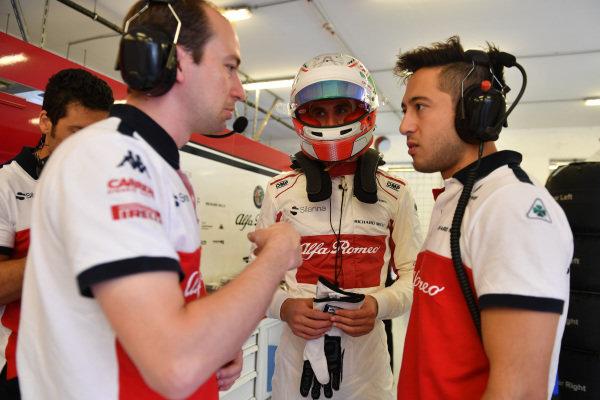 Antonio Giovinazzi (ITA) Alfa Romeo Sauber F1 Team
