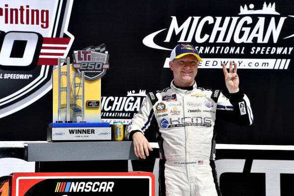 #2: Tyler Reddick, Richard Childress Racing, Chevrolet Camaro KC Motorgroup wins