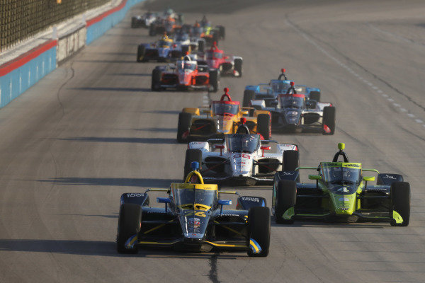 Zach Veach, Andretti Autosport Honda Copyright: Chris Owens - IMS Photo