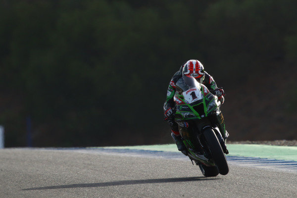 Jonathan Rea, Kawasaki Racing Team,  Spanish WorldSBK race1, 2020.
