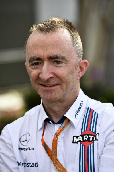 Paddy Lowe (GBR) Williams Shareholder and Technical Director at Formula One World Championship, Rd1, Australian Grand Prix, Qualifying, Albert Park, Melbourne, Australia, Saturday 25 March 2017.