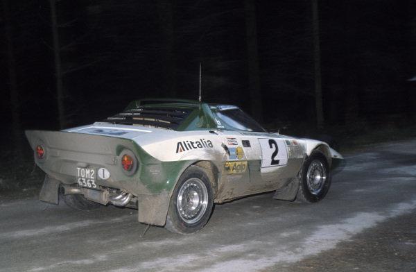 Bjorn Waldegard / Hans Thorszelius, Lancia Stratos HF.