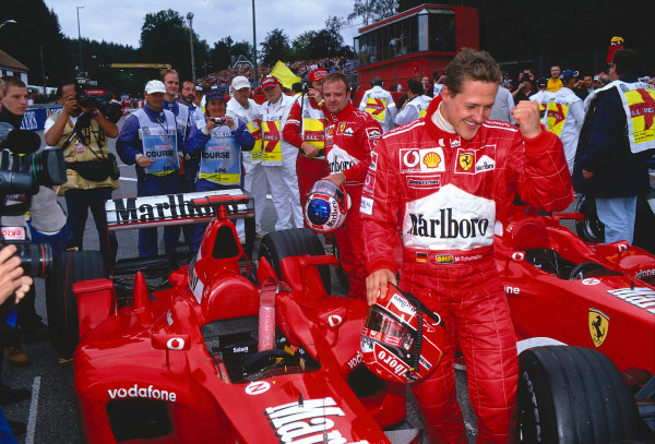 2002 Belgian Grand Prix.