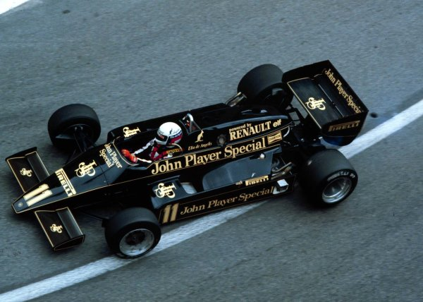 1983 Monaco Grand Prix.Monte Carlo, Monaco.12-15 May 1983.Elio de Angelis (Lotus 93T Renault).World Copyright - LAT Photographic