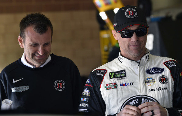 #4: Kevin Harvick, Stewart-Haas Racing, Ford Mustang Jimmy John's and Rodney Childers