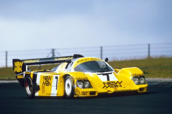 Ayrton Senna (BRA) finished eighth in his first and only sportscar race driving a Joest Racing Porsche 956 with Henri Pescarolo (FRA) and Stefan Johansson (SWE). World Sportscar Championship, ADAC 1000 Kilometres, Nurburgring, Germany, 15 July 1984.