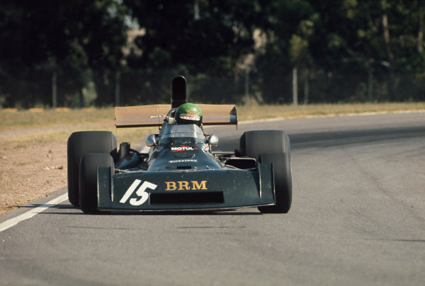 1974 Argentinian Grand Prix  Buenos Aires, Argentina. 11-13th January 1974.  Henri Pescarolo, BRM P160E, 9th position.  Ref: 74ARG15. World Copyright: LAT Photographic