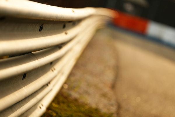 Sepang International Circuit, Sepang, Kuala Lumpur, Malaysia. Thursday 26 March 2015. Barrier. World Copyright: Alastair Staley/LAT Photographic. ref: Digital Image _79P0873