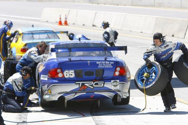 5 - 7  May 2006, Mazda Raceway Laguna Seca, Monterey, California , USATRG pit stop.Copyright 2006, Richard Dole, USA LAT Photographic