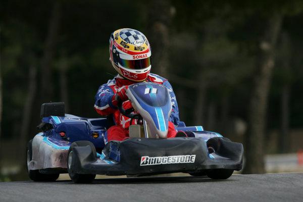 2005 GP2 Karting Challenge13th June 2005Nicolas Lapierre (F, Arden International). Action. Circuit Paul Ricard, FranceWorld Copyright: GP2 SeriesDigital Image Only