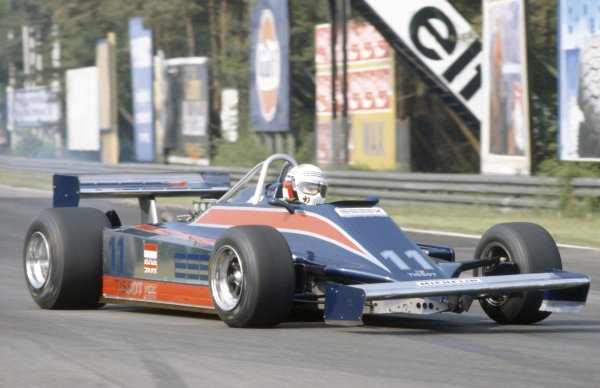 1981 Belgian Grand Prix.Zolder, Belgium. 15-17 May 1981.Elio de Angelis (Lotus 81B-Ford Cosworth), 5th position.World Copyright: LAT PhotographicRef: 35mm transparency 81BEL25
