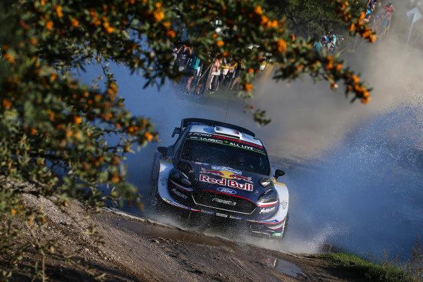 Sebastien Ogier performs at Rally Argentina