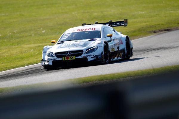 2017 DTM Round 2 Lausitzring, Germany. Friday 19 May 2017. Paul Di Resta, Mercedes-AMG Team HWA, Mercedes-AMG C63 DTM World Copyright: Alexander Trienitz/LAT Images ref: Digital Image 2017-DTM-R2-ESL-AT1-0960