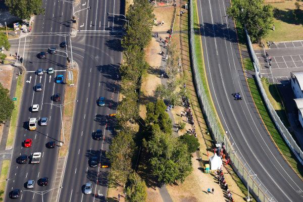 Albert Park, Melbourne, Australia. Sunday 26 March 2017. Antonio Giovinazzi, Sauber C36 Ferrari. World Copyright: Sam Bloxham/LAT Images ref: Digital Image _W6I4467