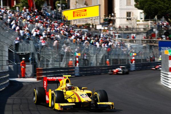 2017 FIA Formula 2 Round 3. Monte Carlo, Monaco. Saturday 27 May 2017. Sean Gelael (INA, Pertamina Arden)  Photo: Zak Mauger/FIA Formula 2. ref: Digital Image _X4I9603