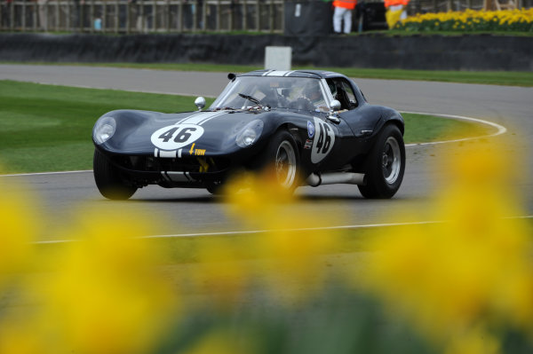 2017 75th Members Meeting Goodwood Estate, West Sussex,England 18th - 19th March 2017 Graham Hilli Trophy Ian Burford Cheetah World Copyright : Jeff Bloxham/LAT Images Ref : Digital Image