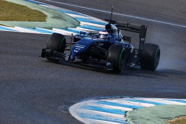 2014 F1 Pre Season Test 1 - Preview Circuito de Jerez, Jerez, Spain. Wednesday 29 January 2014. Valtteri Bottas, Williams FW36 Mercedes. World Copyright: Andrew Ferraro/LAT Photographic. ref: Digital Image _79P1217