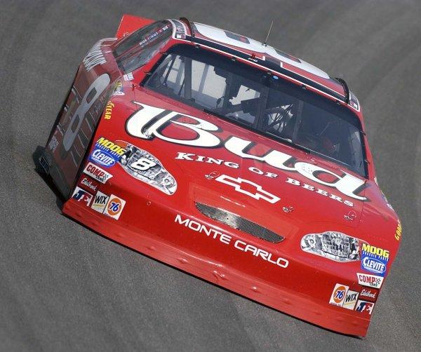 2003 NASCAR-Michigan Intl. Speedway,USA, June 13-15. Dale Earnhardt jr. at speed,World Copyright -RobertLeSieur ,June,2003LAT Photographic-ref: digital image
