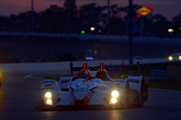28-31 January, 2016, Daytona Beach, Florida USA 54, Chevrolet, ORECA FLM09, PC, Jonathan Bennett, Colin Braun, Mark Wilkins, Martin Plowman ?2016, F. Peirce Williams LAT Photo USA
