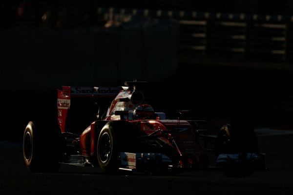 Circuit de Catalunya, Barcelona, Spain Thursday 25 February 2016. Kimi Raikkonen, Ferrari SF16-H. World Copyright: Alastair Staley/LAT Photographic ref: Digital Image _79P4859