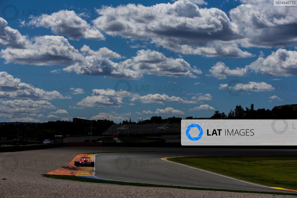 2016 GP3 Series Testing. Circuit Ricardo Tormo, Valencia, Spain. Friday 8 April 2016. Jack Aitken (GBR, Arden International). World Copyright: Zak Mauger/LAT Photographic. ref: Digital Image _L0U3566