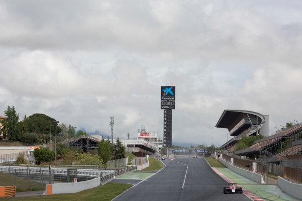 2016 Barcelona Testing. Circuit de Catalunya, Barcelona, Spain. Thursday 21st April. Nirei Fukuzumi (JPN, ART Grand Prix). Action.  World Copyright: Alastair Staley/LAT Photographic. ref: Digital Image 585A7747