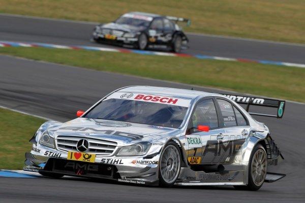 Jamie Green (GBR), AMG Mercedes.DTM, Rd4, Eurospeedway Lausitz, Germany, 18-19 June 2011.